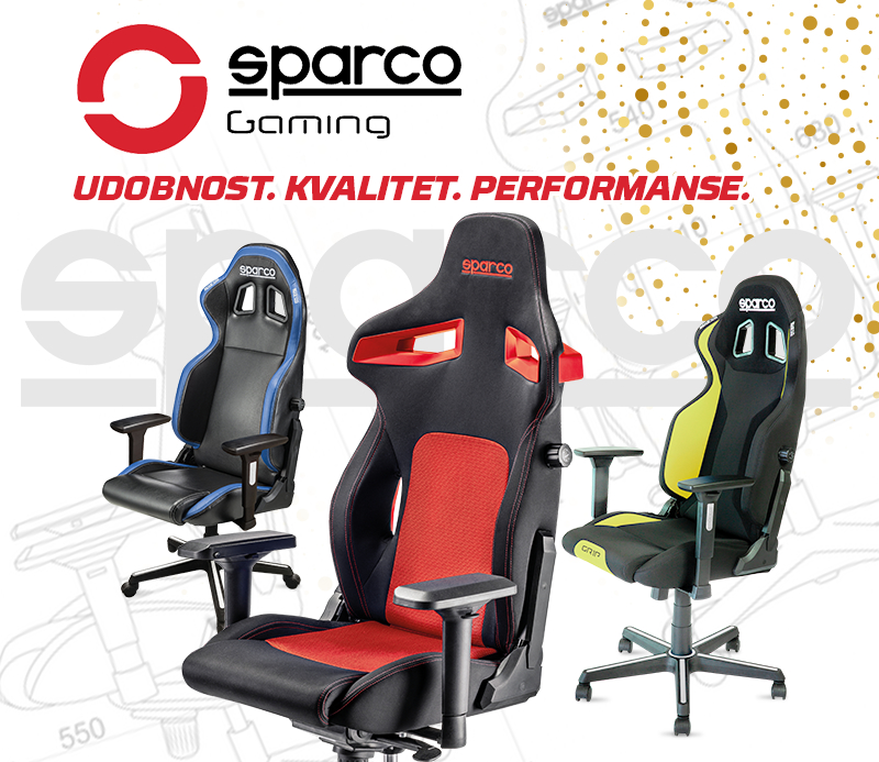Sparco Gaming Stolice