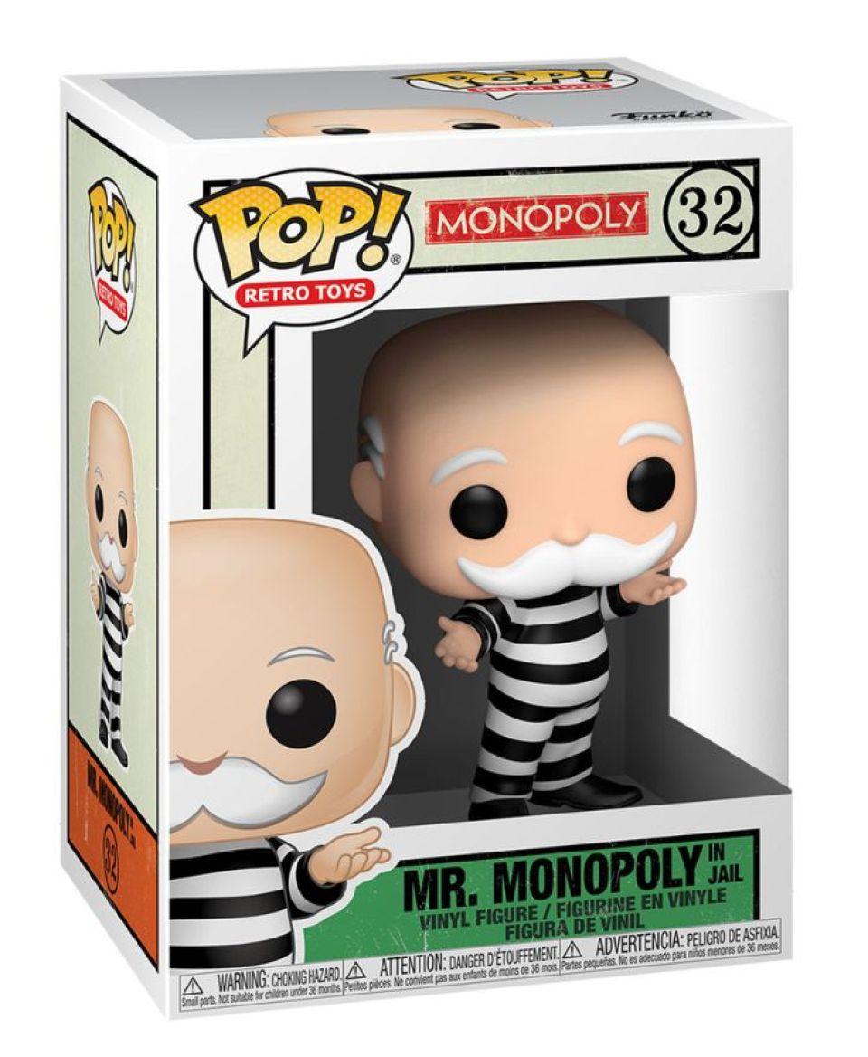 Privezak Pocket Pop! Monopoly - Mr. Monopoly in Jail