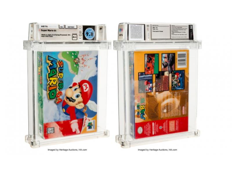 Imate li 1.56 miliona za zapečaćenu kopiju Super Mario 64?