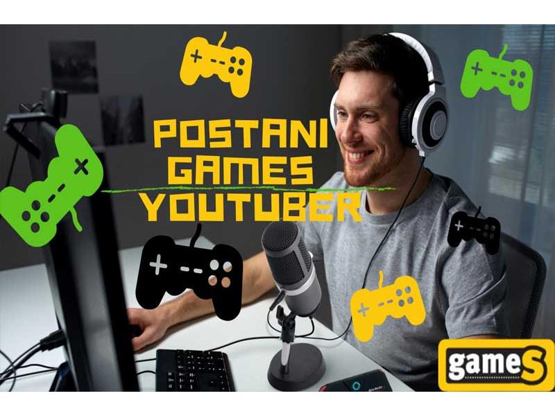 Postani Games Youtuber