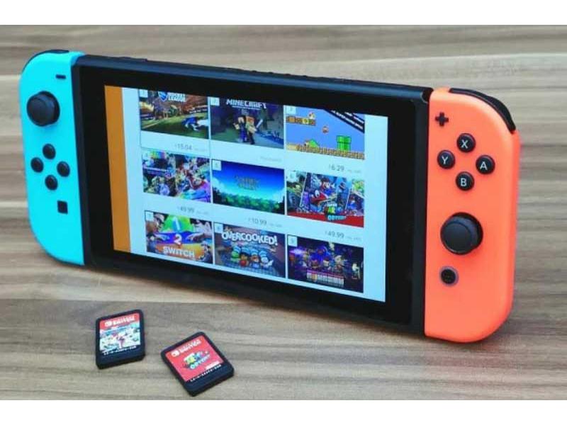 Kako da stavite SD karticu u Nintendo Switch?