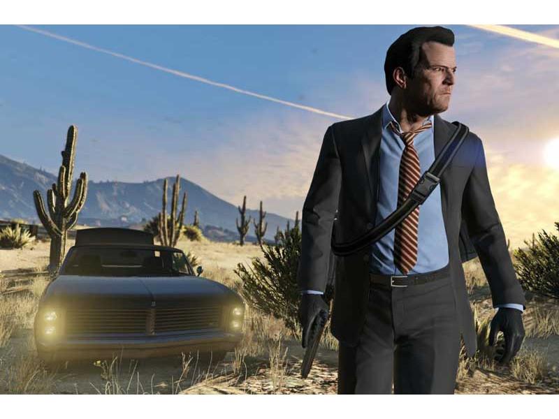 GTA V i Red Dead Redemption 2 na PS5 konzoli