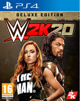 PS4 WWE 2K20 - Deluxe Edition