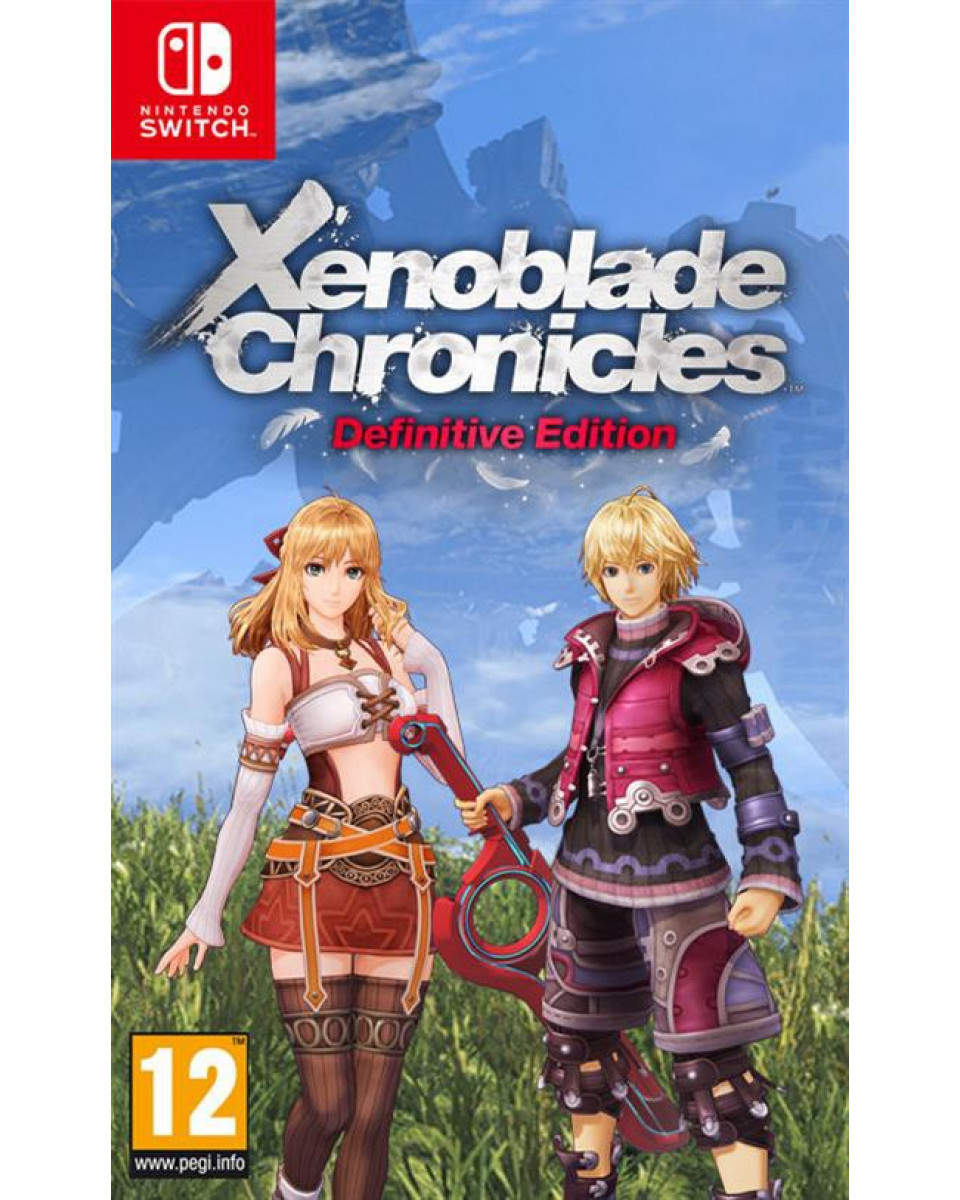 Switch Xenoblade Chronicles Definitive Edition Day One