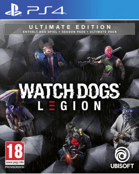 PS4 Watch Dogs - Legion Ultimate Edition