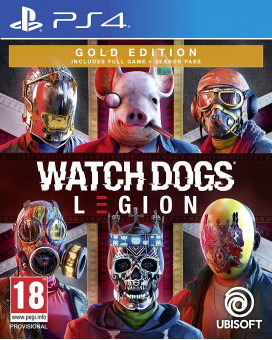 PS4 Watch Dogs - Legion Gold Edition