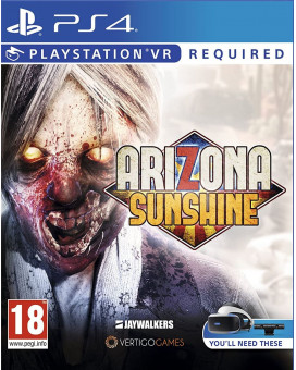 PS4 Arizona Sunshine VR