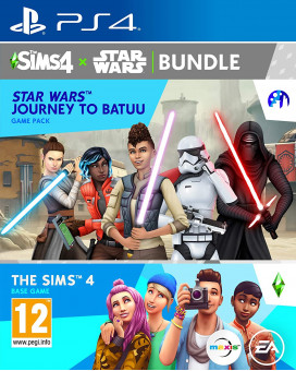 PS4 The Sims 4 + Star Wars Journey to Batuu
