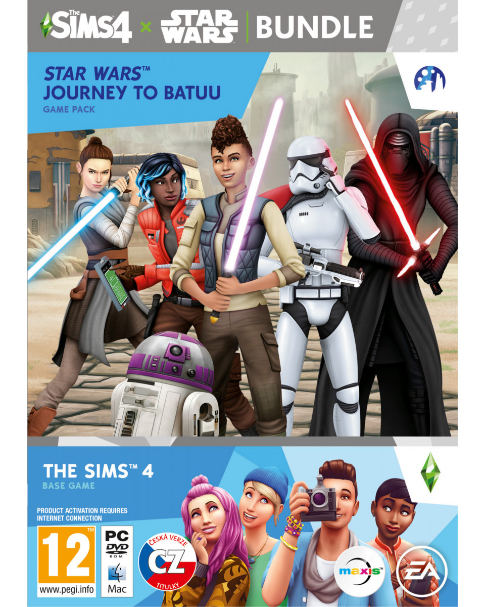 PCG The Sims 4 + Star Wars Journey to Batuu
