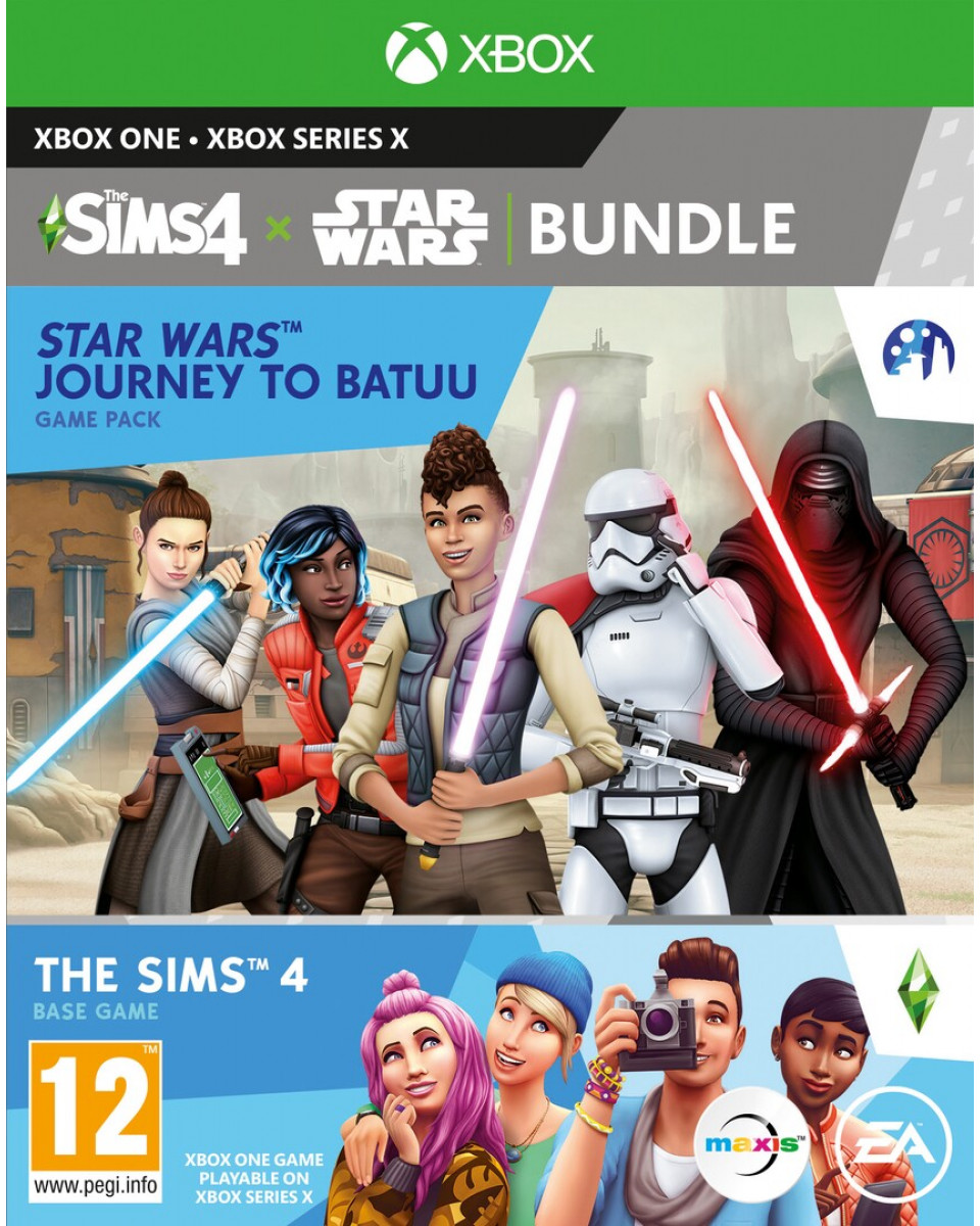 XBOX ONE The Sims 4 + Star Wars Journey to Batuu