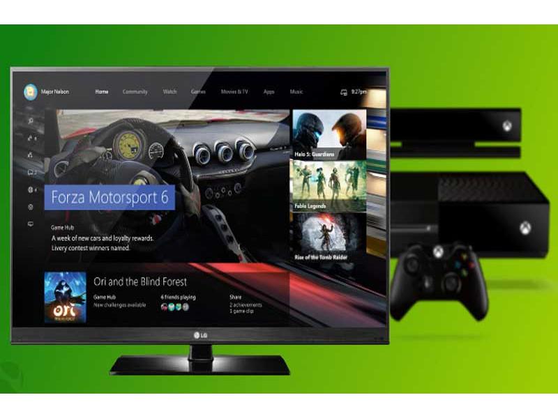 Korisnički interfejs Xbox Serije X