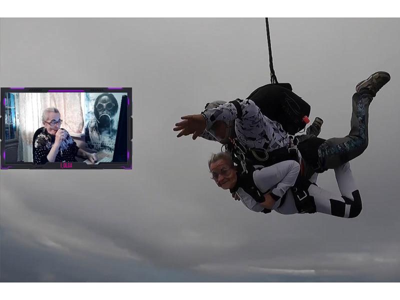 73-godišnja CS:GO strimerka zasenila Twitch svojim skokom iz aviona