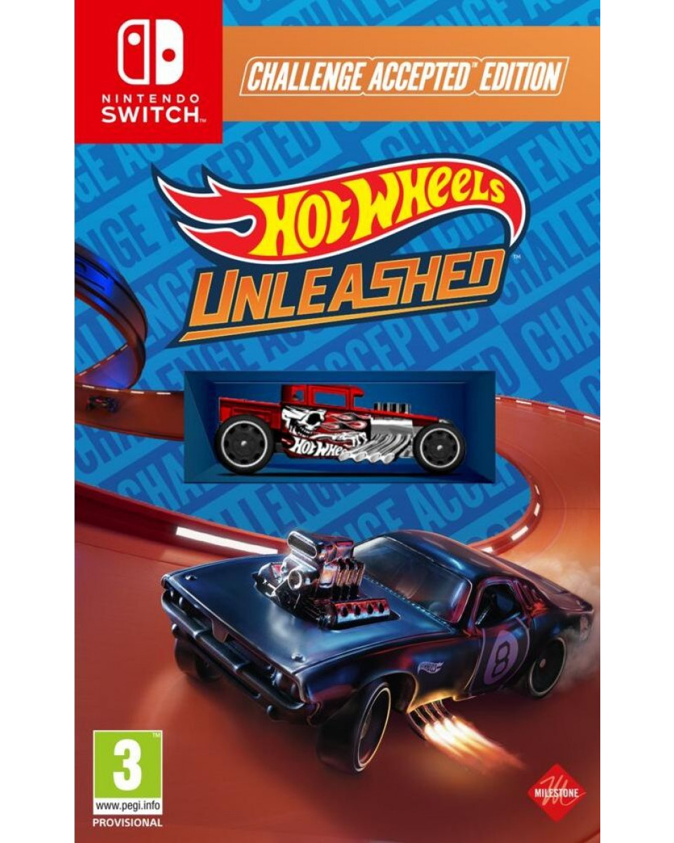Switch Hot Wheels Unleashed - Challenge Accepted Edition