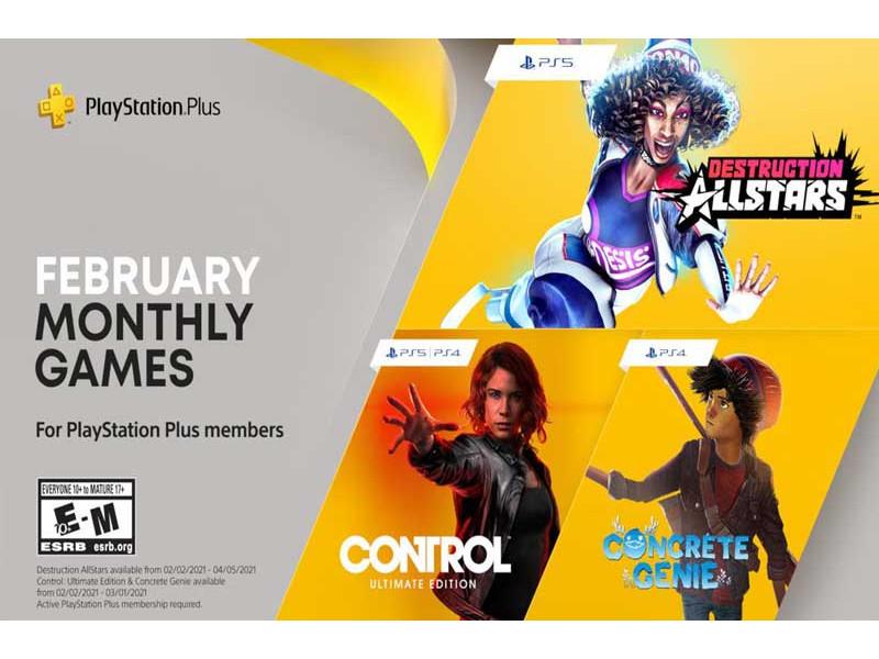 Ponuda igara za februar 2021 na PS+