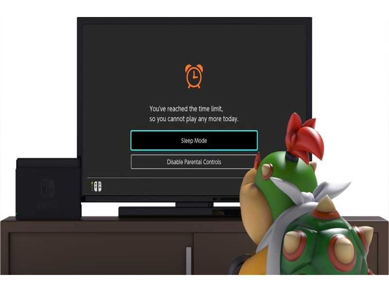 Nintendo - Kontrole za roditelje