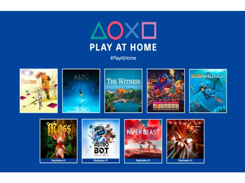 PlayStation podržava igranje kod kuće i poklanja HITOVE!