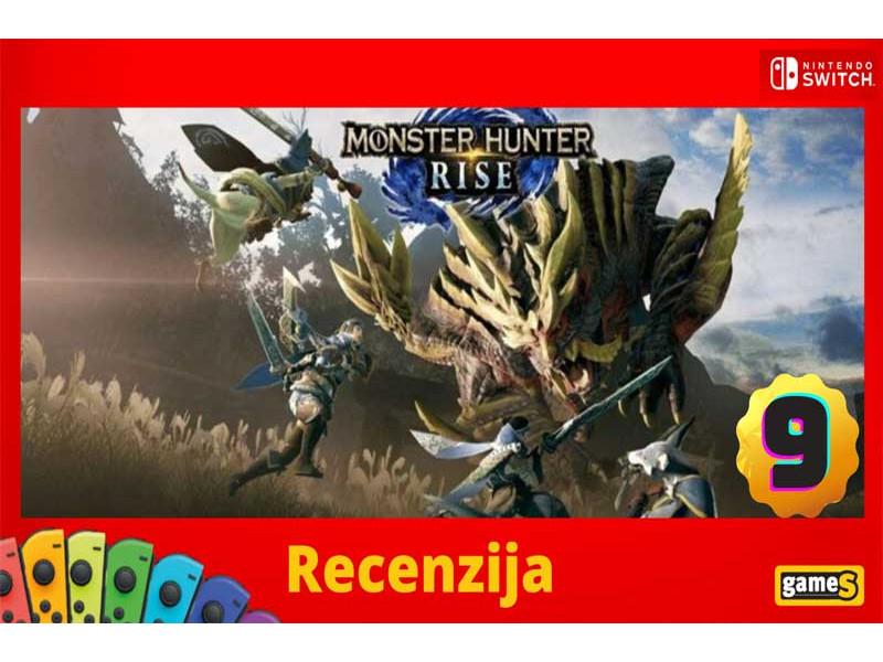 Monster Hunter Rise - Recenzija