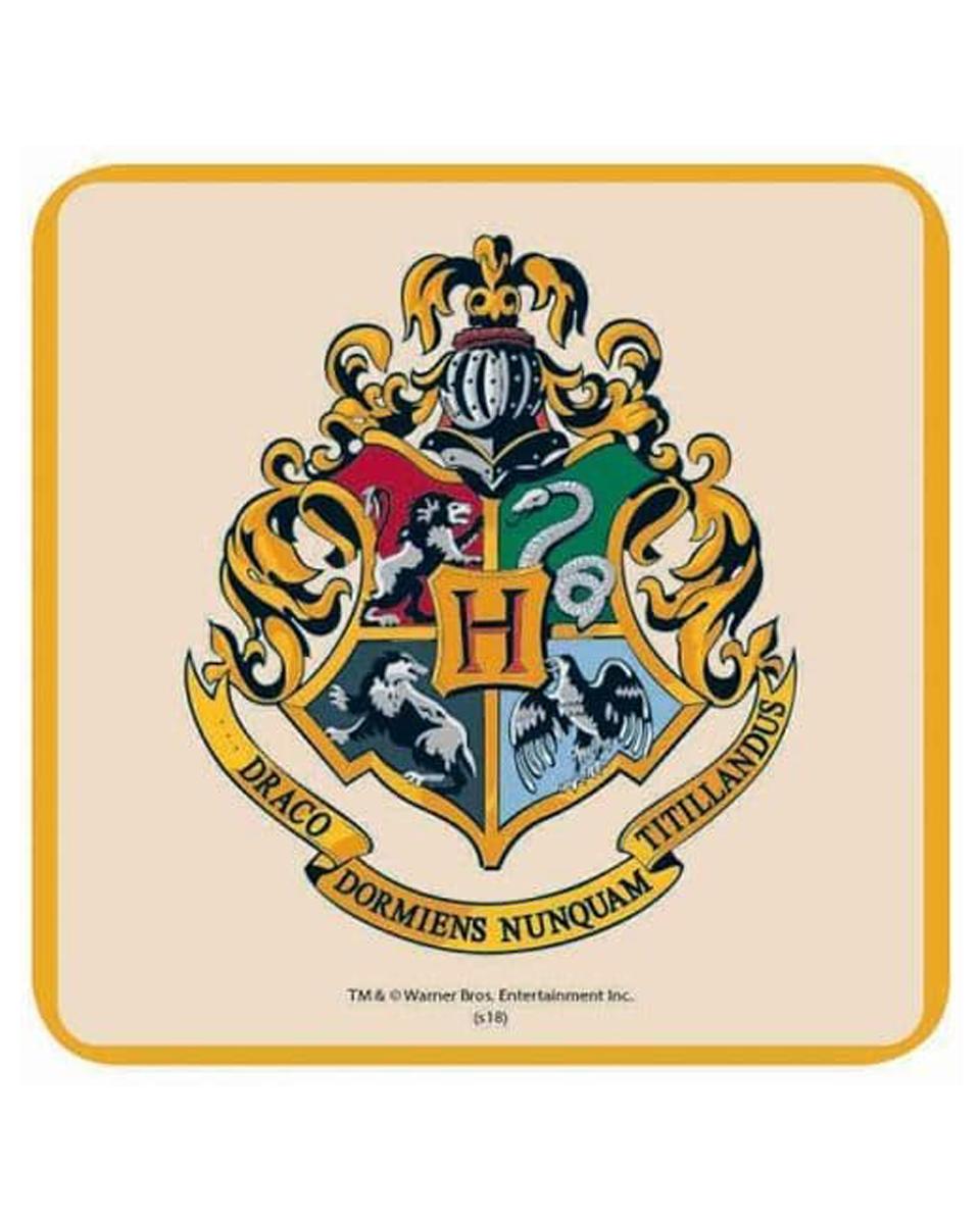 Podmetač za čaše Harry Potter - Hogwarts Crest