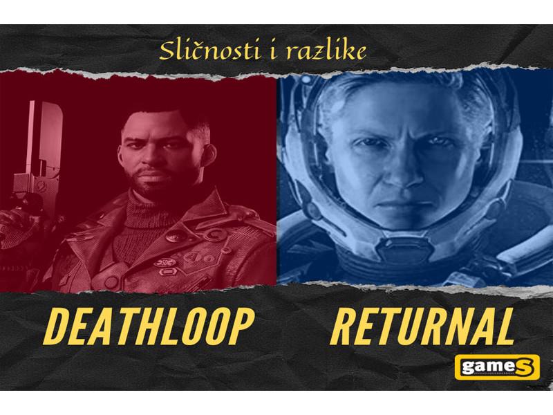 Deathloop  vs Returnal