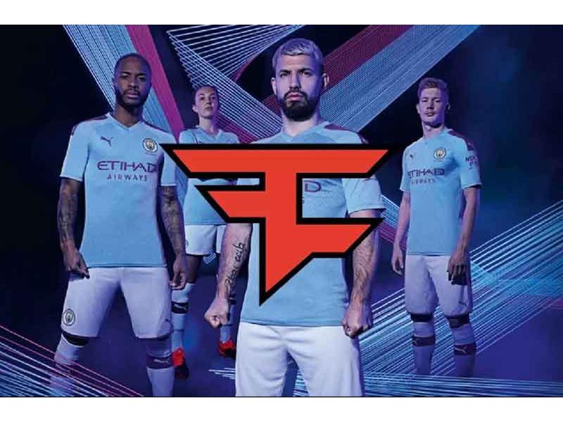 Fudbaleri Mančester Sitija na dresovima nose grb FaZe Clana