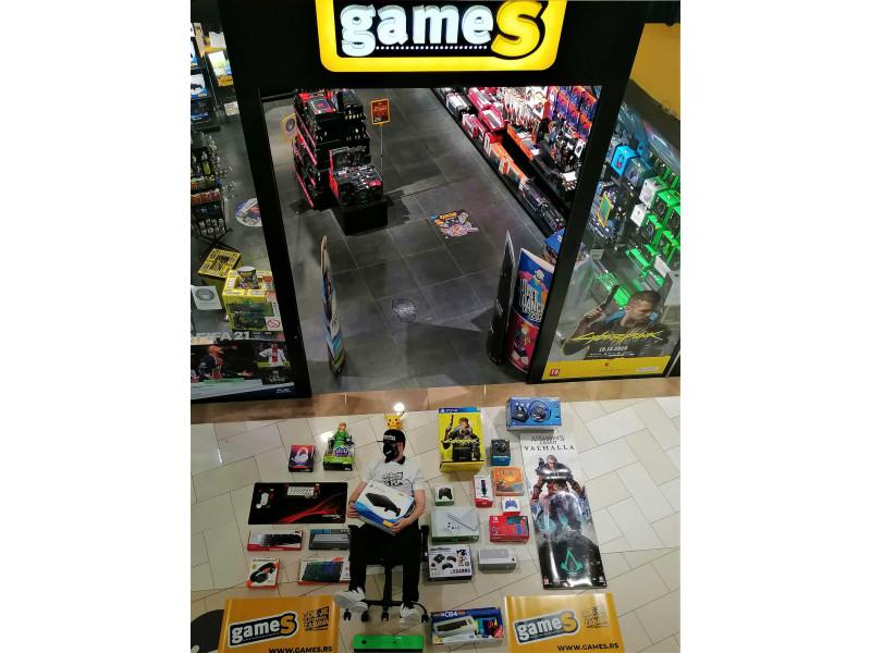 U kojoj (GameS) radnji najrađe kupujete - Promenada NS