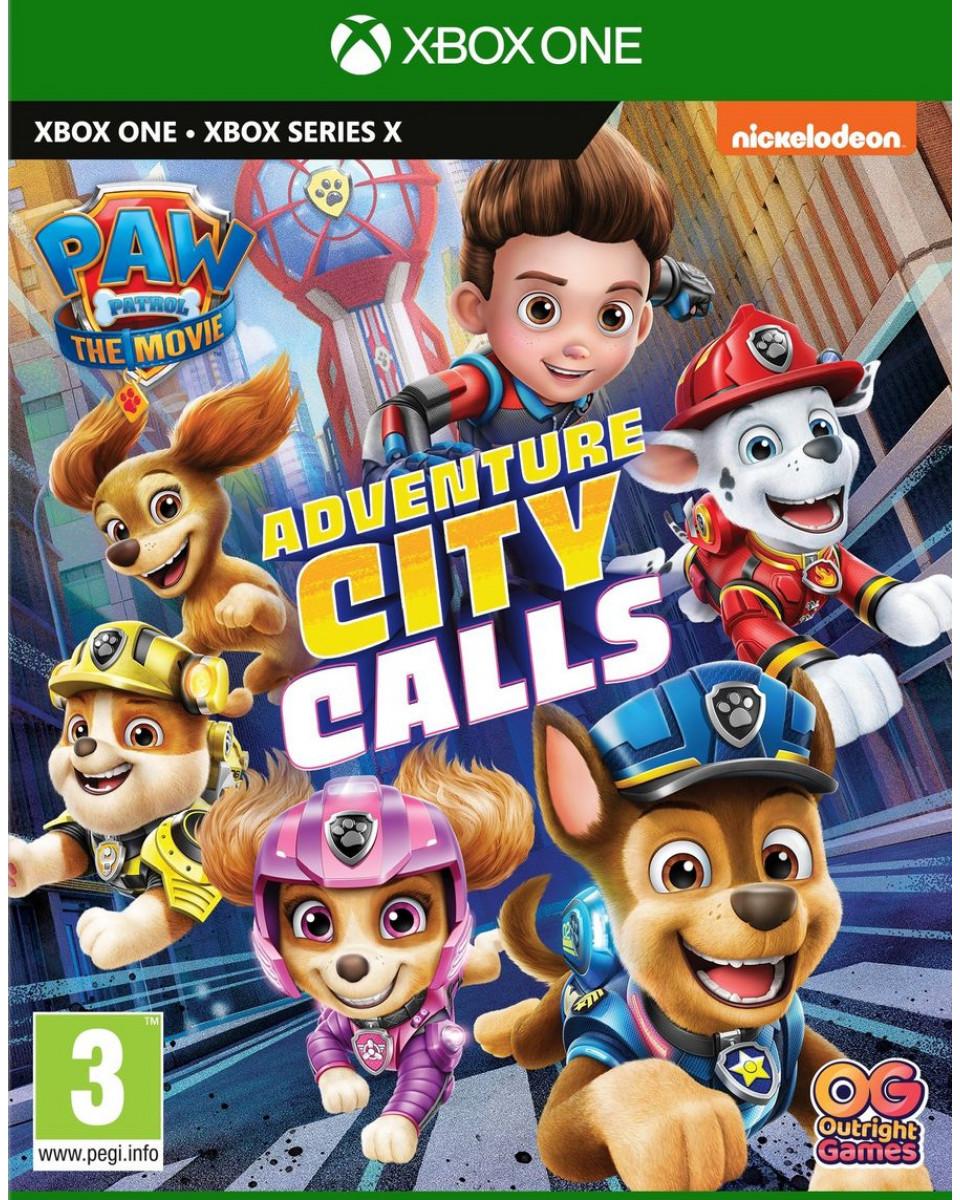 XBOX ONE Paw Patrol Adventure City Calls