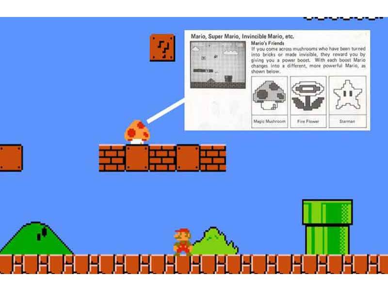 Retro Grad - Super Mario blokovi