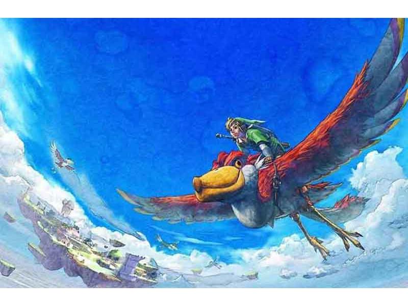 Recenzija The Legend of Zelda: Skyward Sword HD