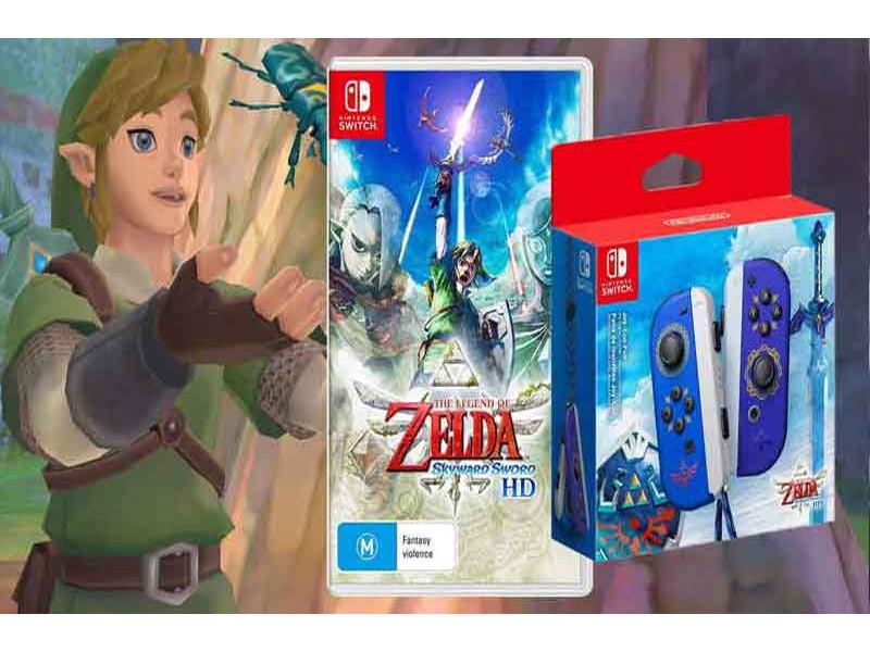 The Legend of Zelda: Skyward Sword HD - Recenzija