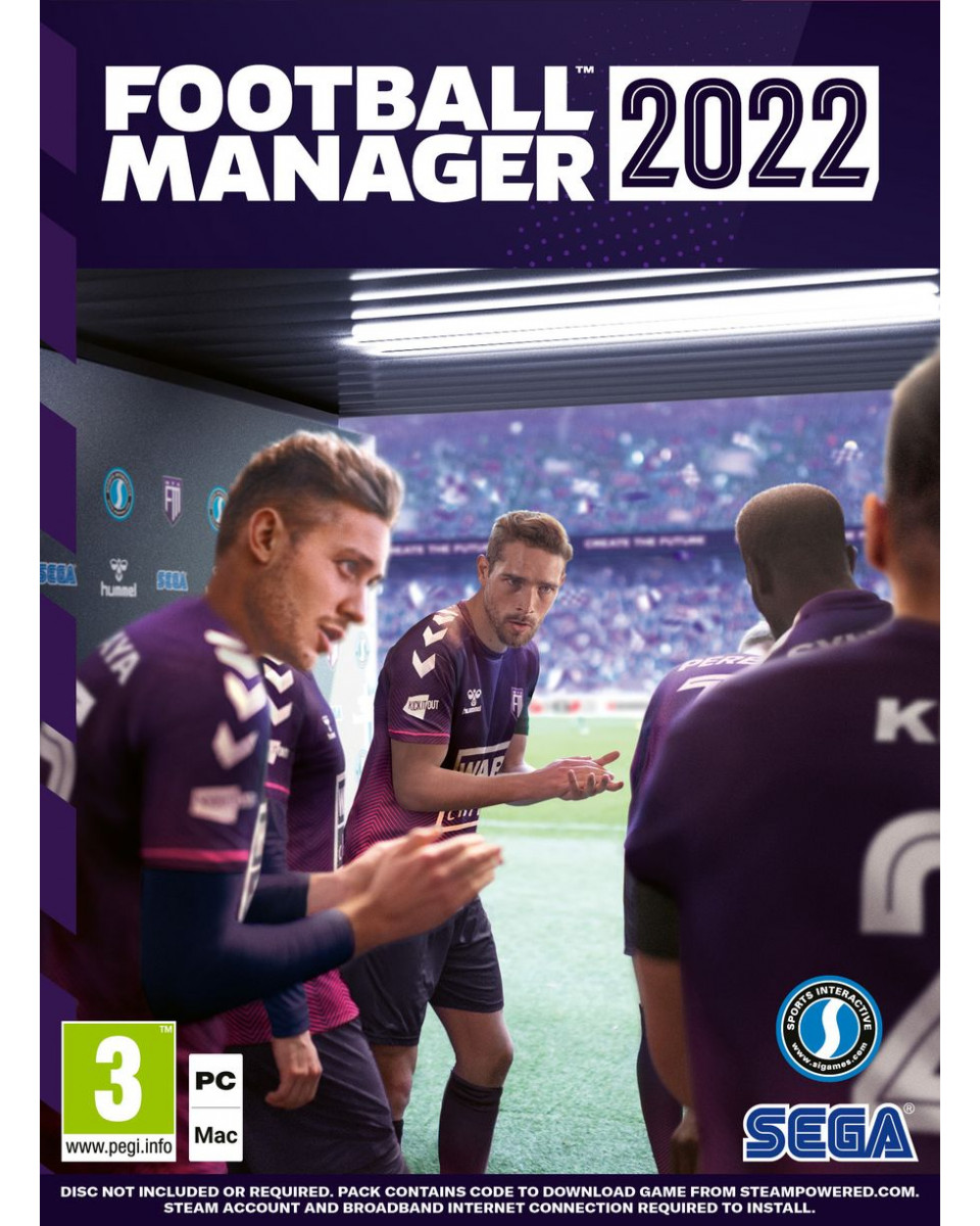 PC Football Manager 2022