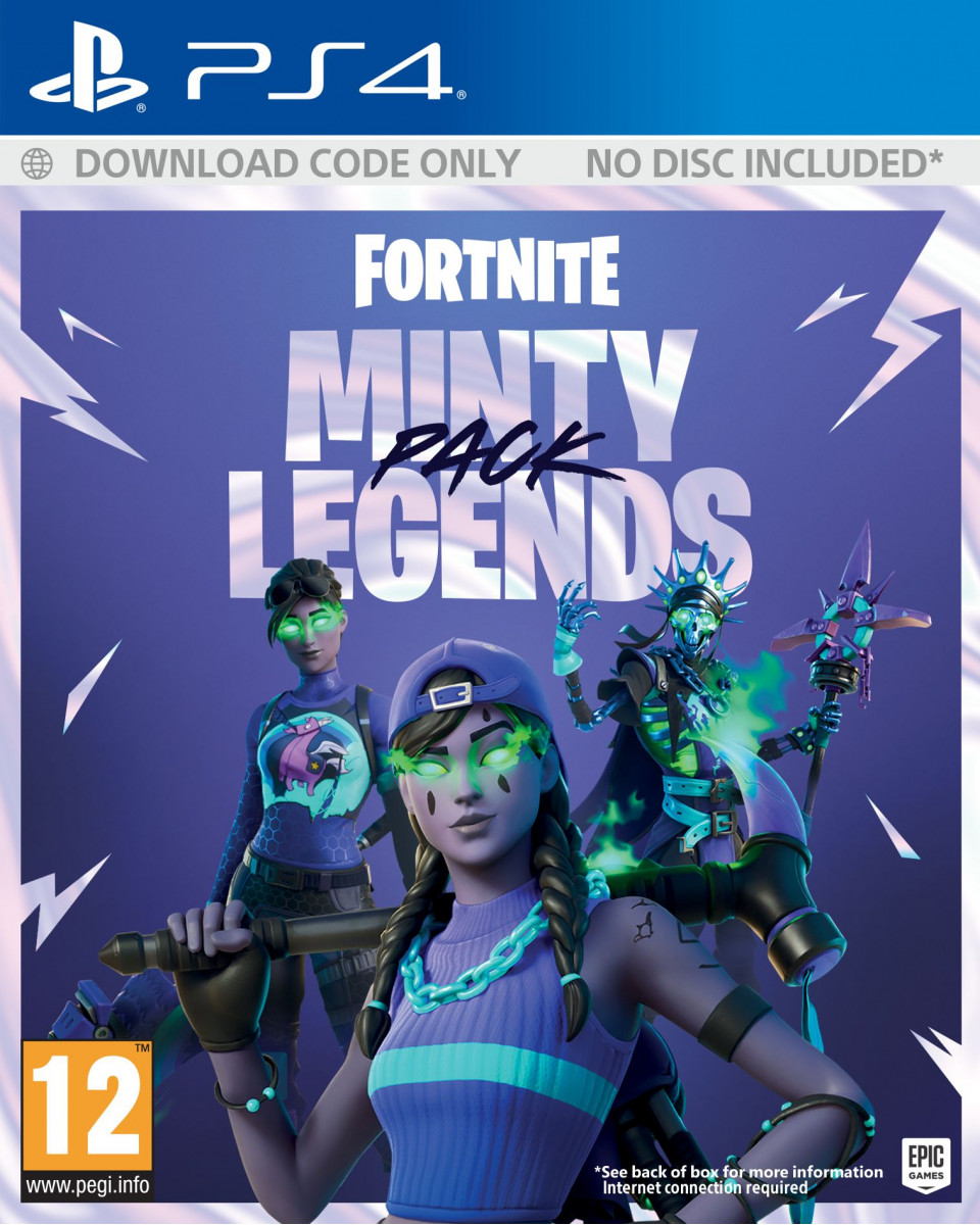 PS4 Fortnite Minty Legends Pack