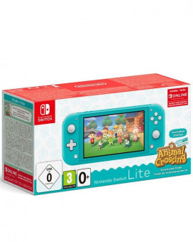 Konzola Nintendo Switch Lite - Turquoise + Animal Crossing