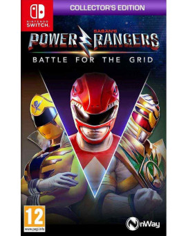 Switch Power Rangers - Battle For The Grid - Collector's Edition