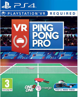 PS4 VR Ping Pong Pro