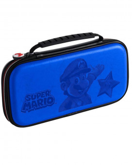 Deluxe Travel Case Super Mario Blue
