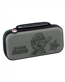 Deluxe Travel Case Super Mario Gray