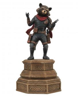 Statue Avengers Endgame Marvel Movie Gallery - Rocket Raccoon