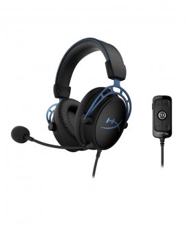 Slušalice HyperX Cloud Alpha S Black / Blue