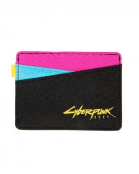 Novčanik Cyberpunk 2077 Kitsch style Card Wallet Black/Pink/Blue