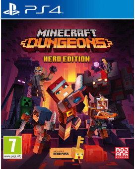 PS4 Minecraft Dungeons - Hero Edition