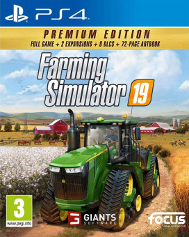 PS4 Farming Simulator 19 - Premium Edition