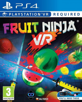 PS4 Fruit Ninja