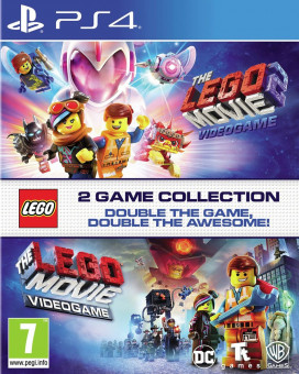 PS4 Lego The Movie & Lego The Movie 2
