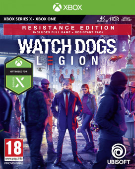 XBOX ONE Watch Dogs - Legion Resistence Edition