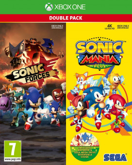 XBOX ONE Sonic Mania Plus and Sonic Forces Double Pack