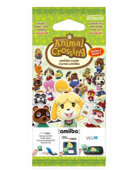 Animal Crossing Amiibo Card Series 1