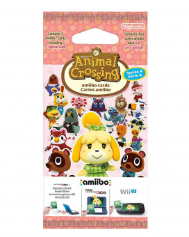 Animal Crossing Amiibo Card Series 4
