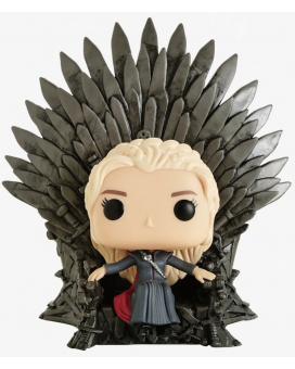 Bobble Figure POP! Game of Thrones - Daenerys Targaryen Sitting on Throne Grey