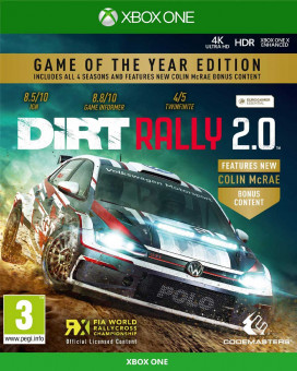 XBOX ONE Dirt Rally 2.0 - Game of the Year Edition