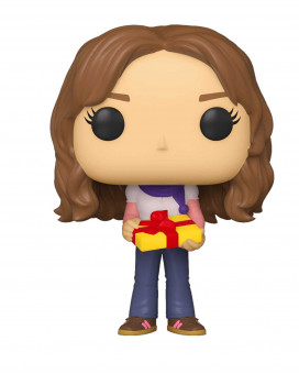 Bobble Figure Harry Potter Holiday POP! - Hermione Granger